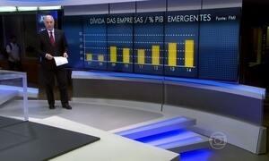 FMI alerta para um risco de choque financeira como o da crise de 2008