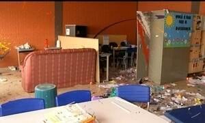 Assaltos e arrastões em salas de aula assustam estudantes em Goiás