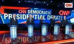 Primeiro debate coloca frente a frente pré-candidatos democratas nos EUA