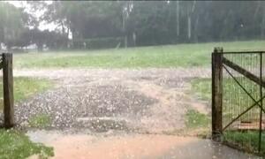 Volta a chover forte no Sul