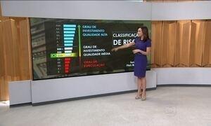 Agência de classificação de risco Fitch volta a rebaixar nota do Brasil