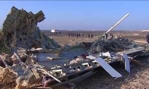 Reparo de cauda pode ter relação com acidente de avião russo