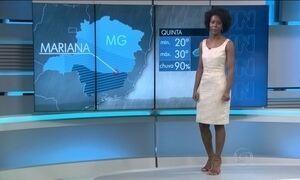 Previsão de chuva forte para o Sul de Minas Gerais nessa quinta (11)