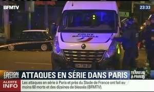 Atentados deixam mortos e feridos em pontos diferentes de Paris