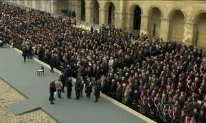 França homenageia vítimas dos atentados terroristas
