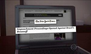 Jornais do mundo repercutiram o início do processo de impeachment