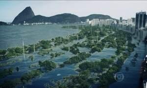 Aquecimento do planeta pode deixar cidades debaixo d'água, diz estudo