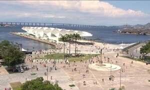 Museu do Amanhã, no Rio, é aberto ao público com viradão cultural