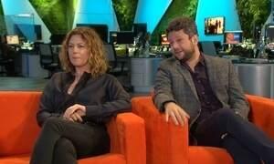 Patrícia Pillar e Selton Mello falam do 1º trabalho juntos na TV