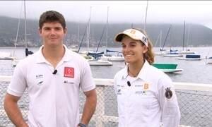 Nova geração Grael garante tradição da vela nos Jogos Olímpicos do Rio