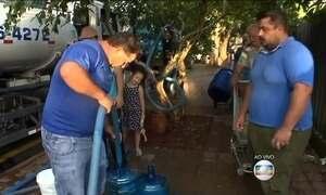 Chuva dá trégua no Paraná, mas moradores de 12 cidades estão sem água