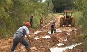 Chuva deixa mil moradores de assentamento rural isolados em MS