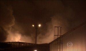 Vazamento de gás tóxico se espalha pela Baixada Santista, em São Paulo