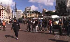 Motoristas de transporte escolar protestam em SP
