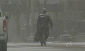 Estados Unidos ficam em alerta para tempestade de neve durante todo o dia