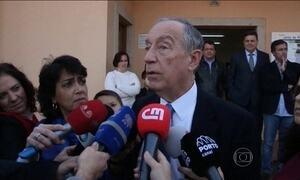 Rebelo de Sousa é eleito presidente em Portugal