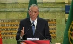 Portugal elege presidente o conservador Marcelo Rebelo de Sousa