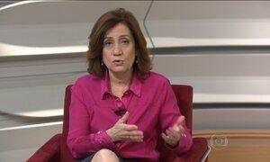 Miriam Leitão comenta  a redução do rombo das contas externas brasileiras