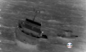 Brasileiros são resgatados de naufrágio nos EUA