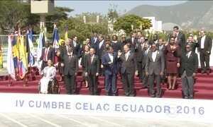 Ameaça do zika vírus é assunto na reunião de cúpula da Celac, em Quito