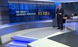 Contas públicas registram rombo recorde de R$ 115 bilhões em 2015