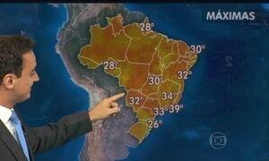 Previsão é de chuva forte para todo o estado de Santa Catarina