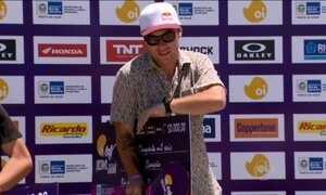 Brasileiro Pedro Barros vence a etapa do Rio no Mundial de Skate Bowl
