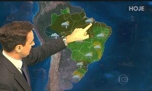 Previsão é de chuva forte no Ceará, Piauí e Rio Grande do Norte