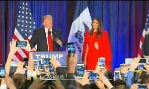 Donald Trump perde votação em Iowa nas prévias para as eleições