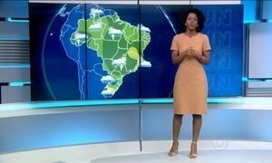 Quarta-feira (3) terá pancadas de chuvas em diversos pontos do país