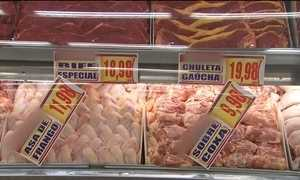 Depois da carne, agora é o frango que está bem mais caro para o brasileiro