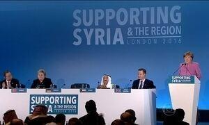 Países se reúnem para angariar dinheiro para Síria