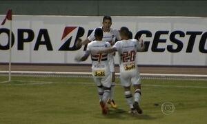São Paulo estreia com empate na fase prévia da Libertadores