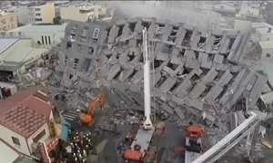 Chega a 14 o número de mortos no terremoto que atingiu a ilha de Taiwan