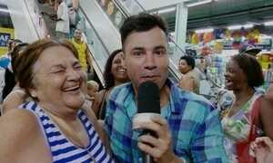 Ator Rodrigo Sant'Anna é Repórter por um dia do Fantástico