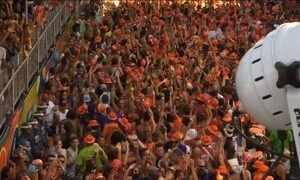 Ivete Sangalo anima a festa em Salvador