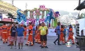 É grande a expectativa para conhecer a grande campeã do carnaval do Rio