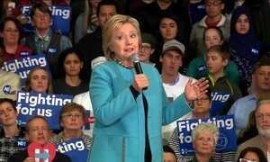 Pré-candidatos à presidência se enfrentam em New Hampshire