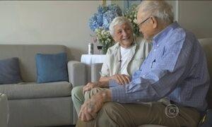 Veterano da Segunda Guerra reencontra ex-namorada 70 anos depois