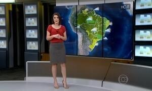 Previsão é de chuva no Espírito Santo e Bahia