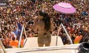 Bloco da Anitta reúne quase 200 mil foliões no RJ