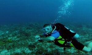 Saiba o que fazer se uma corrente levar você durante mergulho no mar