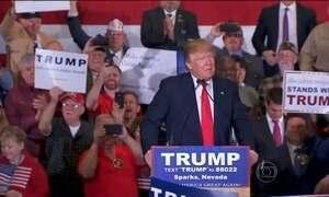 Donald Trump é favorito nas primárias republicanas em Nevada, nos EUA