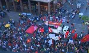 Brasil teve dia de manifestações pró e contra o ex-presidente Lula