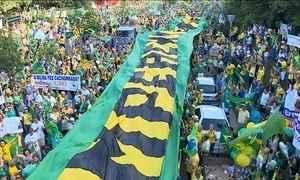 Brasil teve atos em 337 cidades no domingo (13)
