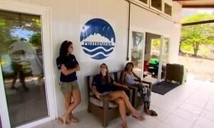 Estação científica da Ilha da Trindade abriga jovens pesquisadores