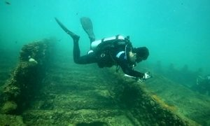 Arqueologia embaixo da água