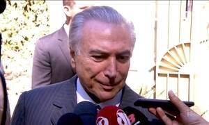 Temer volta a negar golpe contra Dilma, agora em entrevista à CNN