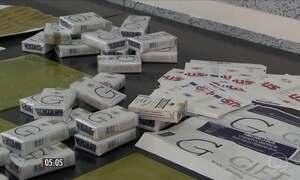 Quadrilha falsificava cigarros do Paraguai