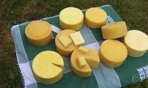 Globo Repórter experimenta os famosos queijos da Mantiqueira